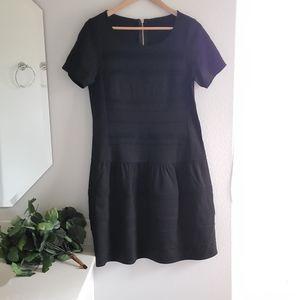 Eliza J Short Sleeve Black Dress Size 12